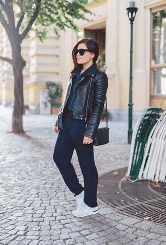 dariadaria blogger bag sunglasses jacket