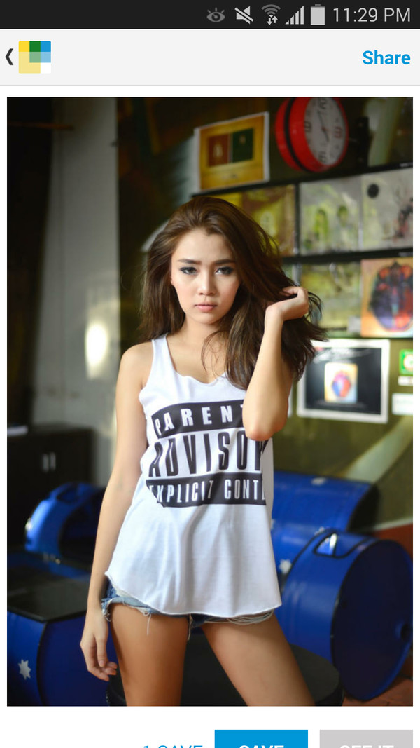 newlook new tip new tank parent advisory explicit content hipster teenagers women fashion tank top model fashion girl ootd