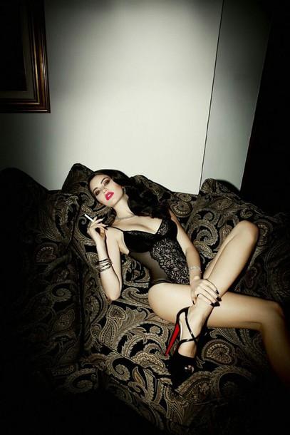 Hot black sexy girl — photo 9