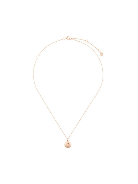 women moon necklace gold grey metallic jewels