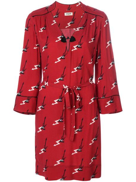 Zadig & Voltaire dress women red
