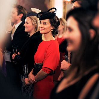 dress pippa middleton red dress