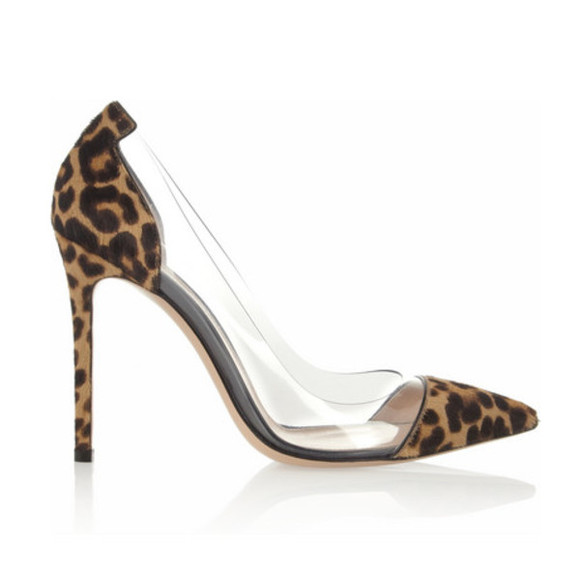 shoes leopard print high heels clear leopard clear heels animal print animal print high heels stilettos