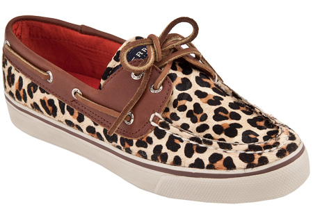 Womens Sperry Top-Sider Bahama 2 Eye Leopard Boat Shoe (Leopard Pony) [KDMH1904] - $60.00 : womens shoes|mens shoes|, footwear|Casual shoes|boots