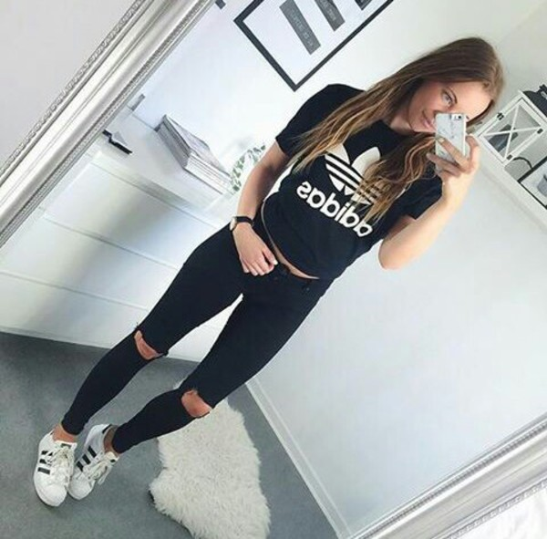 achat Adidas En T Amazon Ligne Women's Shirt xfIvf7