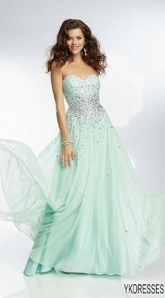 sparkle fashion sparkly dress prom dress long prom dress sparkly dress long dress green dress green full length full length prom dress floor length dress