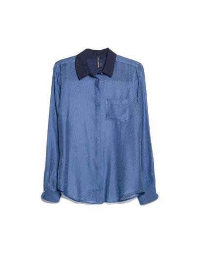 tencel-blend shirt