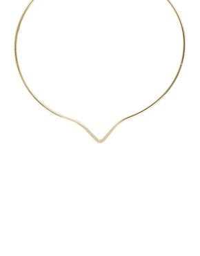 ASOS | ASOS V Shape Choker Necklace at ASOS