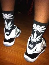 shoes,jordans concord 11,air jordan,socks