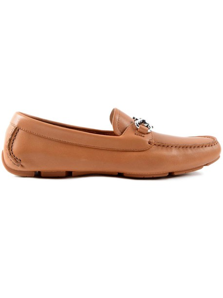 Salvatore Ferragamo loafers brown shoes