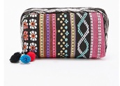 bag,makeup bag,cosmetic bag,tapestry,cosmetic case,make-up,tapestry clutch,tapestry blanket wall hang indian