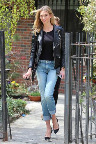 jeans denim jacket biker jacket top
