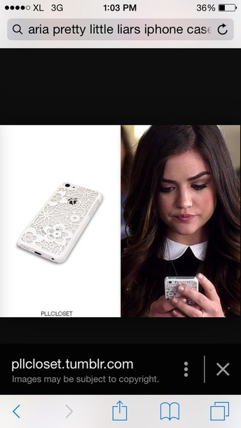 phone cover aria's pretty little liar phone.cover