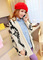 Fashion style turndown collar geometry pattern autumn cardigans g95803