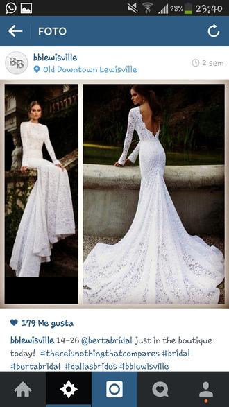 dress bridedress longdress wedding dress backless dress backless white dress