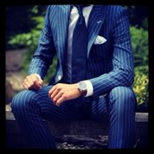 jacket,suit,navy,blue,stripes