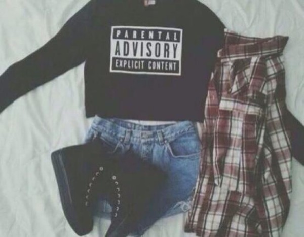 sweater letter printed t-shirt sweater crop tops