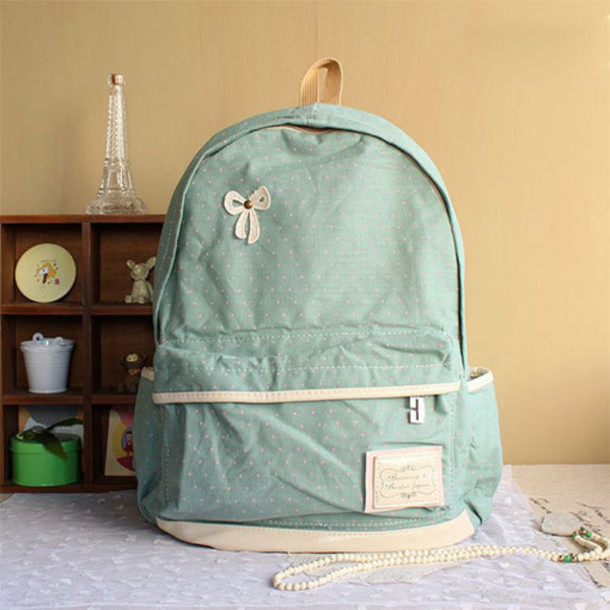 Bag: backpack, school bag, fashion, beautiful, preppy, women ...