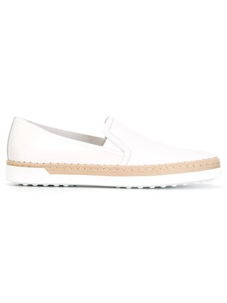 women braided sneakers leather white shoes