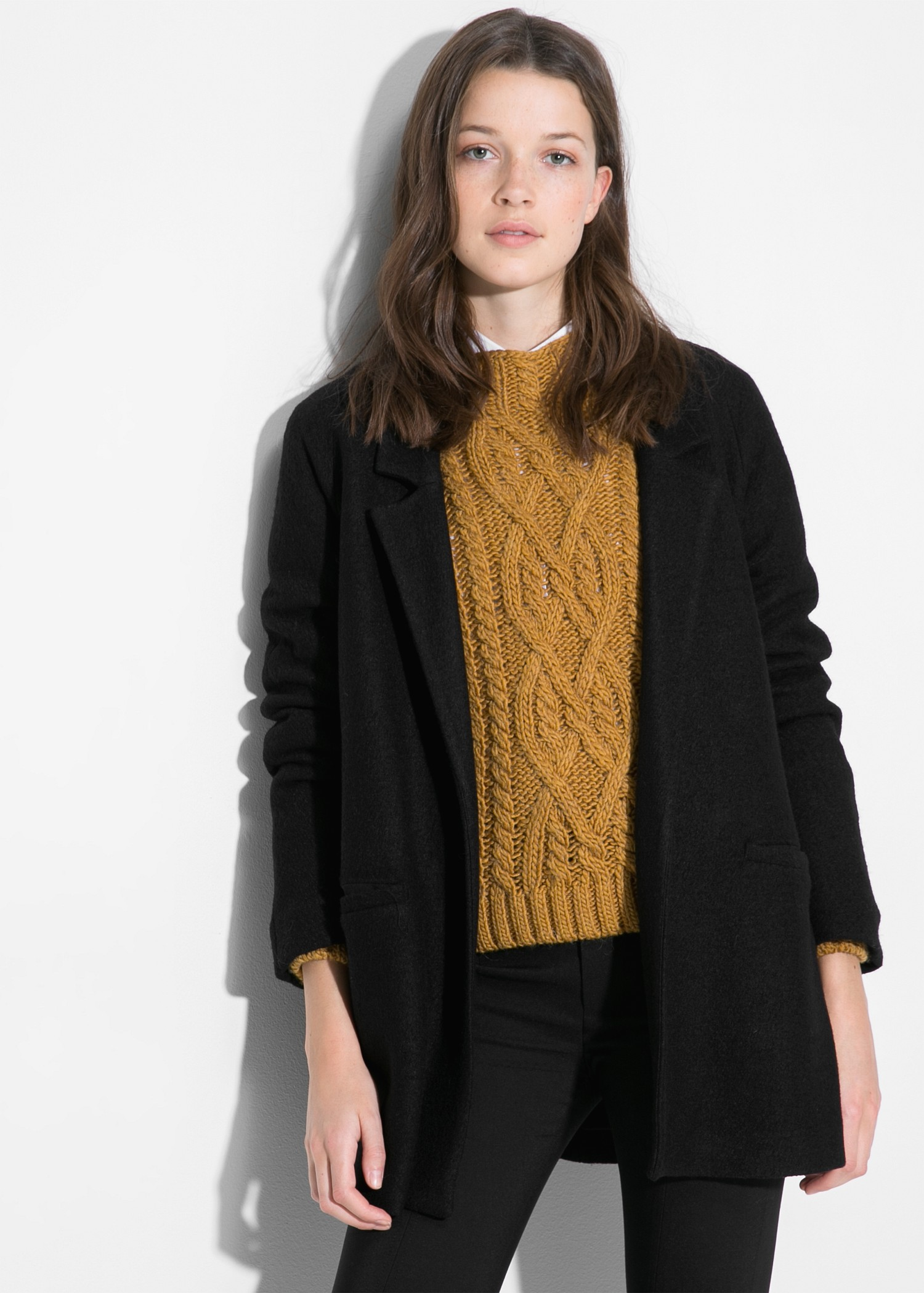 Unstructured wool