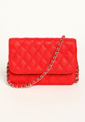 bag,crossbody bag,quilted,chain crossbody,quilted bag