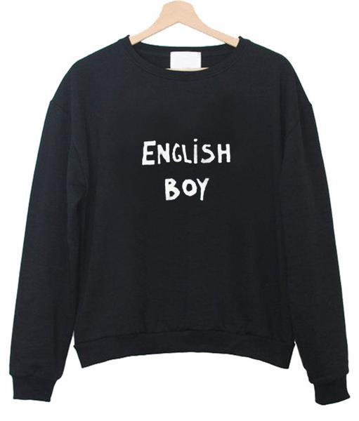 english boy sweatshirt