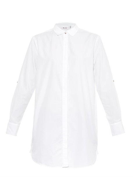 M.i.h Jeans shirt oversized cotton white top