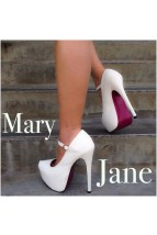 White Glitter Maryjane Heels @ Amiclubwear Heel Shoes online store sales:Stiletto Heel Shoes,High Heel Pumps,Womens High Heel Shoes,Prom Shoes,Summer Shoes,Spring Shoes,Spool Heel,Womens Dress Shoes,Prom Heels,Prom Pumps,High Heel Sandals,Cheap Dress Shoe