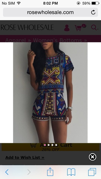 shorts top summer outfits summer summer top summer shorts cute top cute outfits cute shorts high waisted shorts high waisted pretty dope outfit idea party outfits black girls killin it african print dashiki