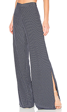 Alexis Lolette Pant in Navy Dot from Revolve.com