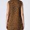 Vestido jacquard leopardo cuello vuelto | vestidos | shop online suiteblanco.com