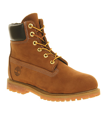 Timberland Premium 6 Boot Rust Nubuck - Ankle Boots