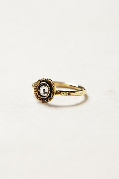 Crystal Bloom Ring - anthropologie.eu