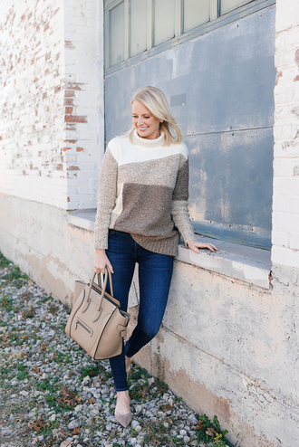 style archives | the style scribe blogger sweater jeans bag shoes winter outfits handbag turtleneck sweater celine bag