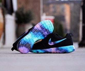 shoes roche runs cute shoes colorful