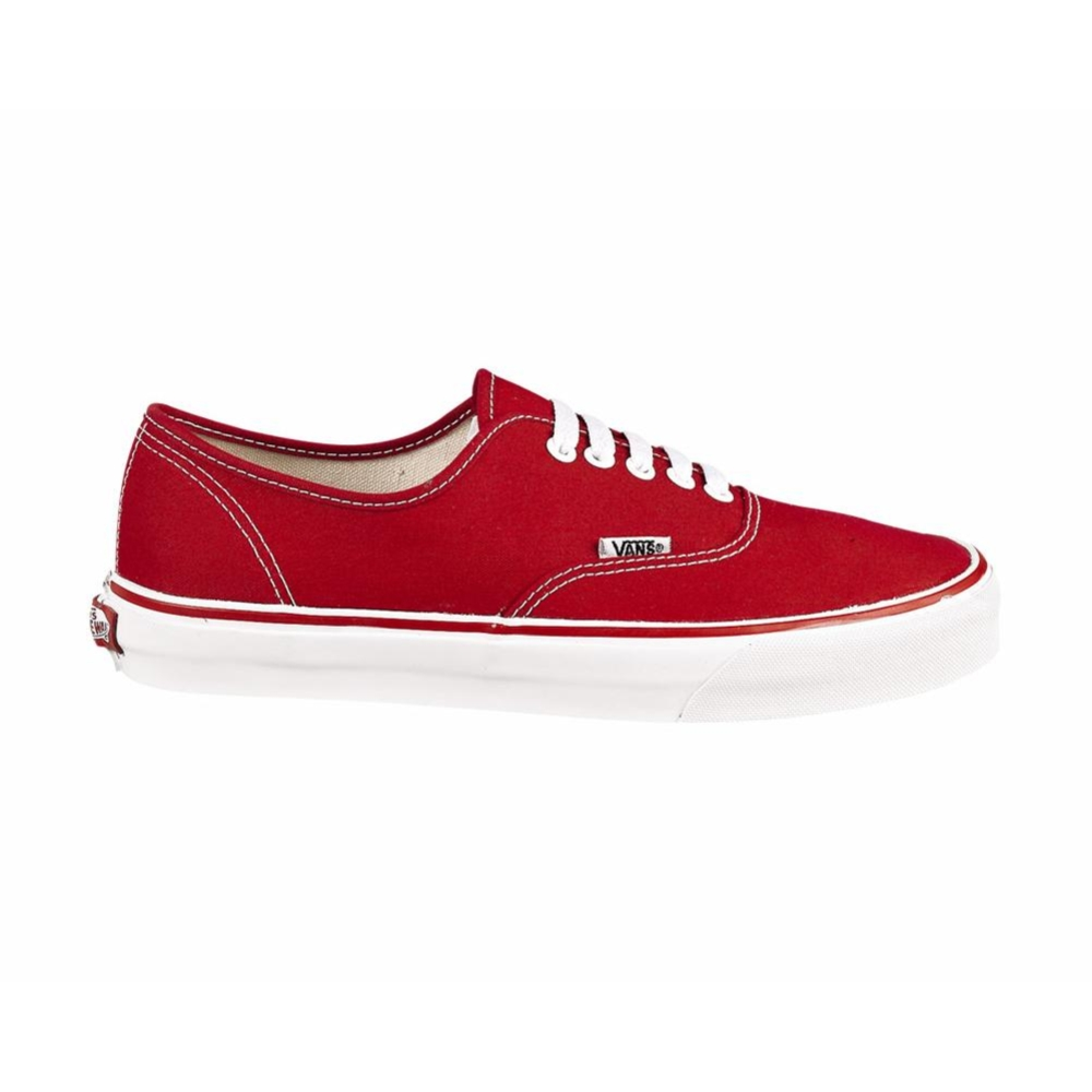Vans Authentic Skate Shoe, Red White | Journeys Shoes