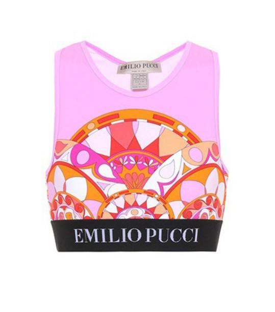 Emilio Pucci Beach bra sports bra underwear