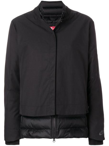 Nike jacket women black