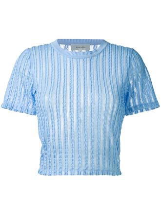 sweater mini women spandex cotton blue