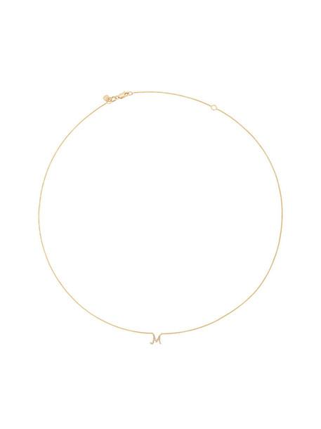 sydney evan women necklace gold grey metallic jewels