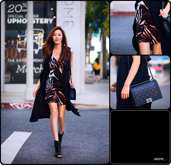 tsangtastic coat jacket dress jewels shoes bag