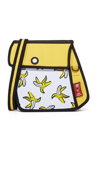 bag shoulder bag yellow