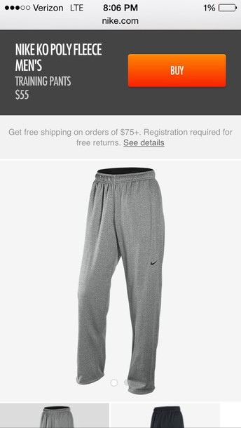 pants nike nike sweatpants