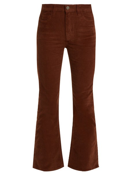 M.i.h Jeans flare light brown pants