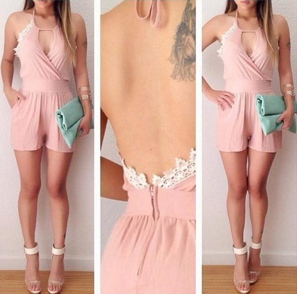 style romper cut out blogger