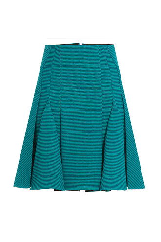 skirt wool green