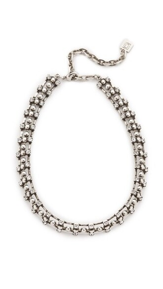 necklace silver jewels