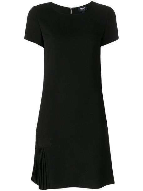 ARMANI JEANS dress pleated women black