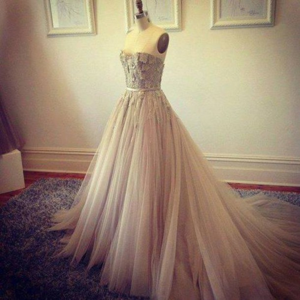 dress prom purple long vintage flawless gown strapless