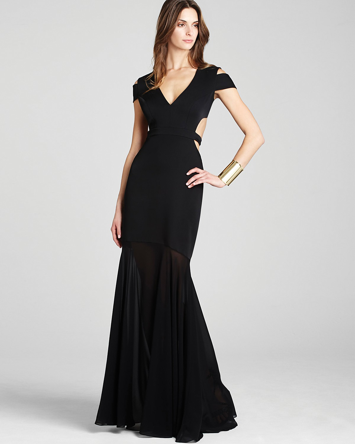 Gown - Off The Shoulder Cutout | Bloomingdale\'s